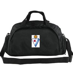 Bolso de lona Eibar Sociedad Deportiva club tote Fútbol Armeros mochila Equipaje de ejercicio Fútbol deporte bandolera bandolera al aire libre
