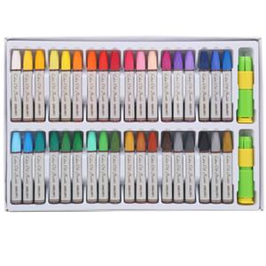 36 Farben / Box Öl Pastell für Student Schreibwaren Schule Farbe Pastell Zeichnung Pen Supplies Deli 72053 kawaii niedlich