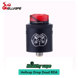 новое прибытие оригинальный Hellvape Drop Dead RDA Rebuildable капает атомайзер 24 мм 510 резьба точное регулируемое управление воздушным потоком