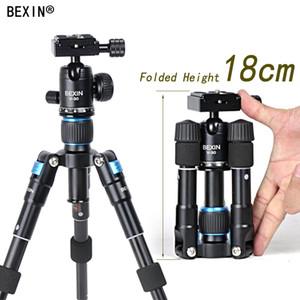 Großhandelsleichtes Kamerastativ-Aluminiumdesktop-Fotografie-kompaktes Ministativ mit drehbarem Kugelkopf für Kamera Canon-DSLR