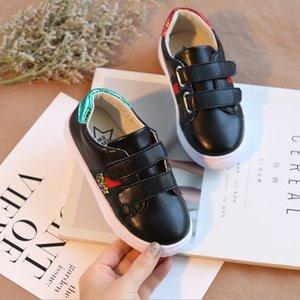 2018 sonbahar ve kış yeni erkekler ve kadınlar çocuk ayakkabıları çocuk beyaz ayakkabı rahat ayakkabılar öğrenci spor kurulu rahat koşu
