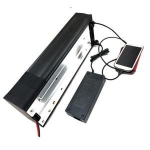 Envío gratis trasero 20ah 48 v ebike battery18650battery para 750W 1000W motor con 30A BMS 54.6V 2A cargador