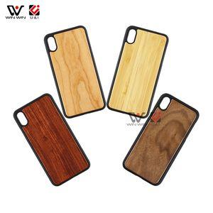 شعبية تصميم مخصص النقش الخيزران حالة الخشب الهاتف لآيفون 6 7 8 زائد X XR XS ماكس