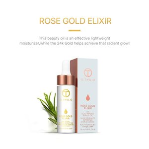 O.TWO.O Face Care Brand Primer Face Lips Make Up Moisturizer Easy to Absorb Gold 24K Rose Essential Oil Face Base Makeup Primer