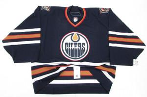 저렴한 주문형 EDMONTON 오일러 6100 팀 발행 저지 골리 컷 60 Mens Stitched Personalized Hockey Jerseys