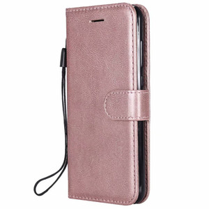 Wallet Case For Huawei Honor 10 Lite Flip back Cover Pure Color PU Leather Mobile Phone Bags Coque Fundas