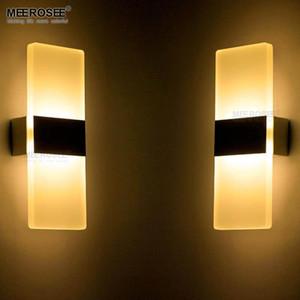 Llevada moderna lámpara de pared Baño Led lámpara de pared de aluminio de pared del accesorio de iluminación de la lámpara Al lado de dormitorio Estudio apliques de luminarias Murale