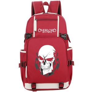 Ainz Ooal vestido mochila Overlord daypack Sobre o senhor dos desenhos animados mochila Laptop mochila saco de escola de Esporte Ao Ar Livre pacote de dia