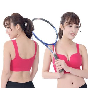 Newest 3D Sports Bra Wire Free Push Up Shakeproof Runny Yoga Short Tanks Fitness Gym Vest