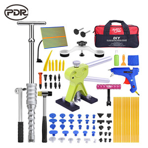 PDR Paintless Dent di riparazione riparazione auto Tool Automotive Strumenti Dent di riparazione Tool Kit Body Kit Car Dent Puller Tool Set