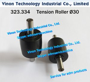 323.334 Ø30mm edm Tension Roller A505, 323.334.3 Pulley wire pick up d=30mm for Agie AC100-AC300 series wirecut edm machines edm spare parts