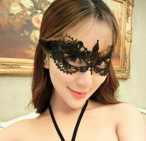 Moda Máscara Meia cara para máscaras de Mulheres do Partido Lace Sexy escavado Design Rainha dança Masquerade casamento Mistério Sinta