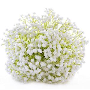 Großhandel 2018 trocken Gypsophila Blume Bouquet natürliche getrocknete Blume Baby Atem Blume Himmel Sterne Bush Bouquet