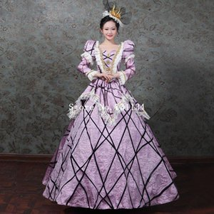 Robe Marie Antoinette Southern Belle Masquerade Robe Queen Theater Reconstitution Vêtements