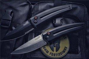 Kershaw 7200 авто тактический нож 8cr13 один край падение точка лезвия T6061 алюминиевая ручка с розничной коробке пакет