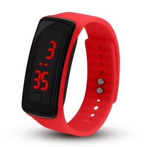 Waterproof smart watch LED Silicone Smart Band Digital watch Sports Wrist Watch For Men Women