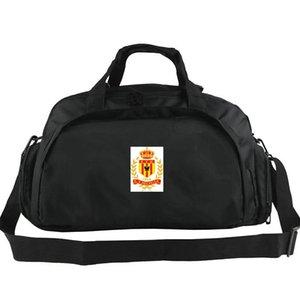 KV Mechelen spor çantası KVM kulübü tote Spor sırt çantası Futbol bagaj Egzersiz omuz duffle Açık sapan paketi