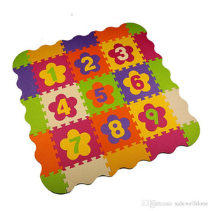 Children soft eva puzzle mat baby play carpet circus troupe cartoon eva foam play mat,pad floor for kids games rugs SGS