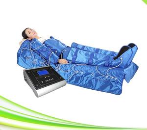 система массажа терапией сжатия воздуха вытрезвителя ноги Иона massager ноги воздуха костюма сауны тонкая