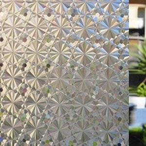 3D Static Cling À Prova D 'Água Casa de Banho Privacidade Adesivo Filme Janela Da Pele Tampa de Vidro Decalque Do Papel Adesivo Decalque Fosco Decor