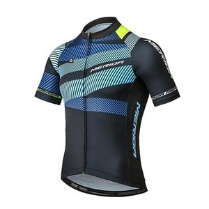 Nueva camiseta de ciclismo de MERIDA Camisas para bicicletas de montaña Ropa Ciclismo equipo de secado rápido usar bicicleta para hombre bicicleta de verano Maillot K070601