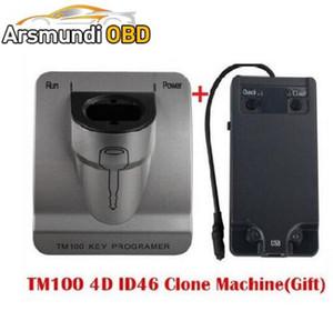 Лучший Релиз V3.48 приемоответчик TM100 ключевой Программник + Id46 Клонер ключевая программа, автомобиль программируя инструмент экземпляра машины TM 100 ключевой