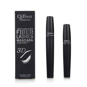 Mascara Qibest 2018 3D FIBER CIGLIA MASCARA Set ciglia trucco ciglia doppio impermeabile mascara 1 scatola = 2 pezzi
