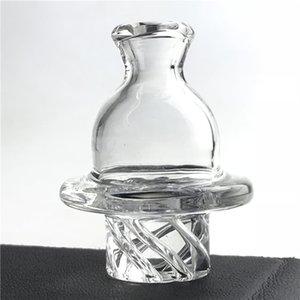 Bouchon de carburateur en verre de piège à bulles de GTR avec 35mm OD d'épaisseur Prex 6 trous Spin UFO Caps pour Terp Pearl Quartz Conduites D'eau
