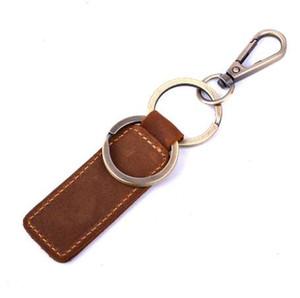 Klsyanyo Vintage cuero genuino clave billetera mujeres llavero cubre clave titular para llaves de automóvil ama de llaves organizador