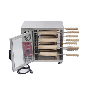 Livraison Gratuite 16 Rouleau Commercial 110v 220v Électrique Crème Glacée Cône Cheminée Gâteau Grill Rouleau Four Maker Machine