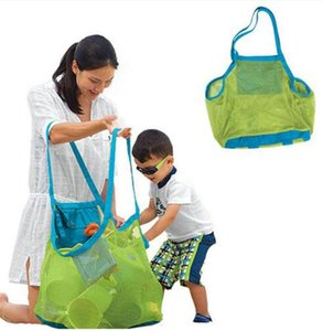 Children sand away beach mesh bag Children Beach Toys Clothes Towel Bag baby toy Storage Bags Sundries Bags TO407