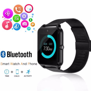 Z60 Bluetooth Smart Watch Support SIM TF Card Camera Fitness Tracker Sleep Tracker Answer Call For IOS Android