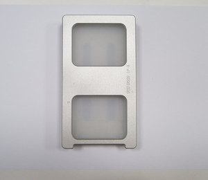 Прокатанная Прессформа Mechine для iPhone X iPhone10 LCD и стекла располагая выравнивание отжимая прессформу металла + циновку