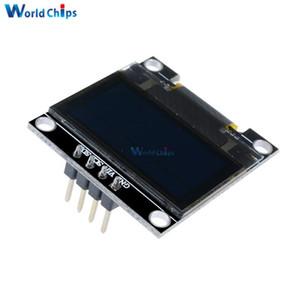 0.96 inç IIC Seri Sarı Mavi OLED Ekran Modülü 128X64 I2C SSD1306 12864 LCD Ekran Kartı GND VCC SCL SDA 0.96