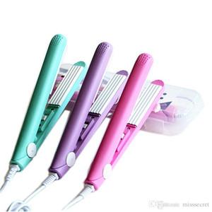 مصغرة الكهربائية بكرة الشعر الضفر الحديد الشعر فرد المكشكش الشعر الحديد المسطح المموج الشباك أدوات تصفيف الشعر