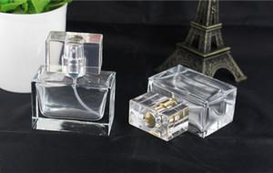 Freies Verschiffen 30ml Parfüm Glas Sprühflaschen mit Silber-Gold-Pumpe und Cap High_End Platz Parfümflaschen leeren 30 ml