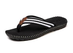 2018 verano nuevos hombres zapatillas código grande casa zapatillas masculinas versión coreana interior antideslizante baño chanclas L528