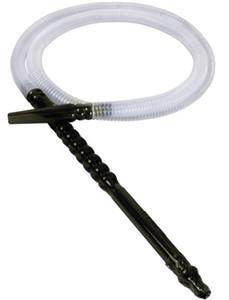 Narghilè tubo Accessori fumatori di buona qualità fabbrica direttamente all'ingrosso 1.8m di plastica Shisha Narghilè tubo usa e getta tubo flessibile di trasporto