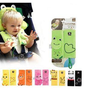 Animal Seat Ceinture Pals Épaulette Pour Bébé Voiture Auto Sécurité Ceinture De Sécurité Harnais Couverture Enfants Protection Coussin Oreiller C4161