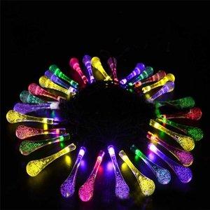 Umweltfreundlich 20 Led 4 Farbe Schnur-feenhaftes Licht Solar-Xmas Lights-Schnur-Licht-Hochzeit Tropfen führt Schnur Weihnachtsdekorationen für Haus