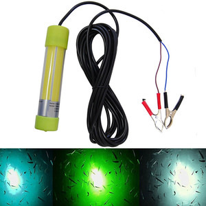 New arrival flashing lamp lure super bright attracting fish lamp 20w DC12V 24V underwater light 5 leds fishing lure light