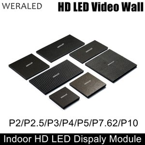 WERALED P2 P2.5 P3 P4 P5 P6 P10 Farbiges LED-Innenmodul, SMD 3-in-1-LED-Videowand-Anzeigefeld 1/8 bis 1/32 Scan