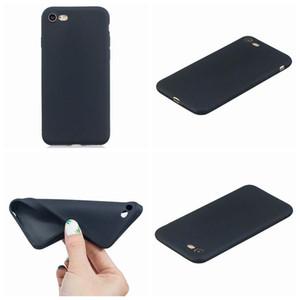 İnce Ultra ince Mat Yumuşak TPU Kılıfları Iphone XR XS MAX X 8 7 6 6 S Artı Kılıfları Silikon Kauçuk Geri Düz İş Cep Telefonu Cilt Kapak