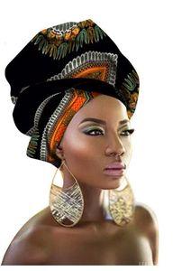 2018 novo design de estilo lenço de cabeça longo lenço de cabeça headcover mulheres turbante xale warp cabelo headwrap africano q039 * novo *