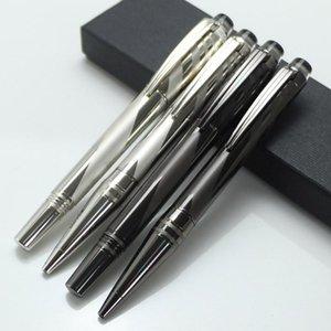 Nuevo diseño estrella de lujo rollerball pluma Cerámica metal plata / gray officeschool supplies bolígrafo para escribir