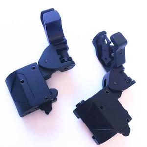Sistema táctico de 45 grados de compensación de respaldo plegable Vista de hierro Vista delantera trasera Plegable Vistas