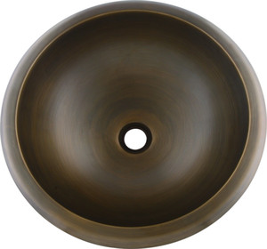 Современный новый медный круглый стиль UNDERMOUNT кованые ванной раковина бассейна античный бронзовый цвет