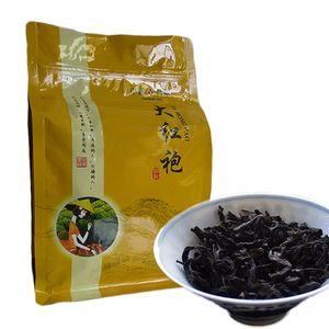 250g preto orgânico Chinese Tea Top Grade Da Hong Pao Big Red Robe Chá Oolong Red Health Care New Cozido Chá Verde Food Factory Direct Vendas