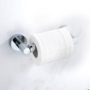 Aleación de zinc aleación de baño soporte de papel estantes de baño rodillo montado en la pared papel estantería gancho higiénico titular de tejido