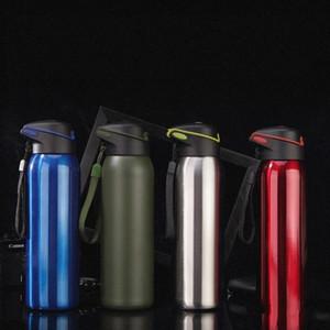 Neuheit Stroh Becher Edelstahl Isolierte Tasse Delicate Wasserflasche Multi Farbe Outdoor Schule Camping Trinken Werkzeuge 25yx ii